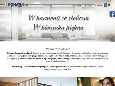 Rolety - Warszawa - remonty - Donatex