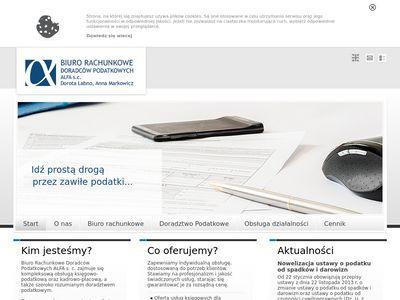 """Biuro Rachunkowe Doradców Podatkowych """"Alfa"""" s.c. Dorota Łabno, Anna Markowicz"""