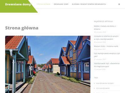 www.drewniane-domy.com - domy z drewna
