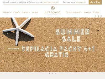 Dr Legrand - Dermatologia, medycyna estetyczna, salon kosmetyczny Kraków