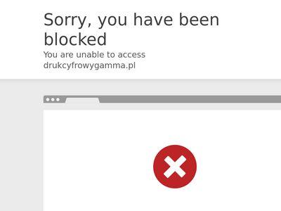 Drukarnia cyfrowa Gamma Kraków