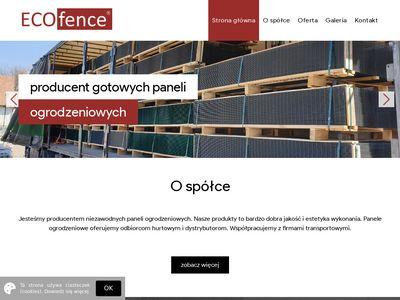 Gabiony z EcoFence.