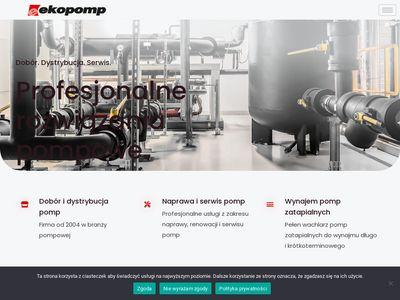 EKOPOMP - Pompy przemysłowe. Dobór i dystrybucja.