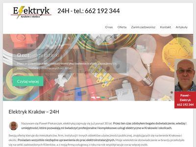 Elektryk Kraków