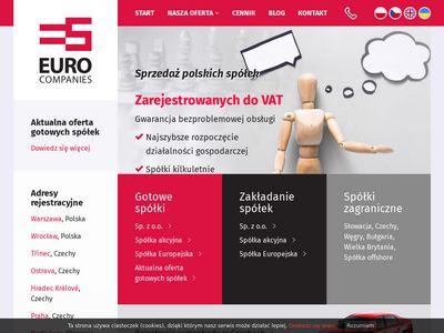 Eurocompanies - zakładanie firmy w anglii