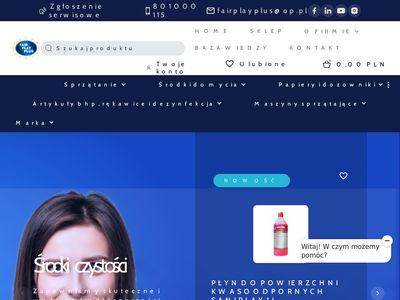 Maszyny do czyszczenia schodów ruchomych, eskulatory - Fair Play Plus