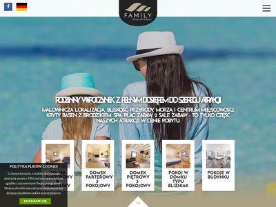 Domki Dziwnówek - Family Holiday