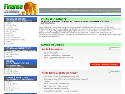 Wybierz konto bankowe
