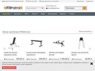 FitPatrol.pl - sprzęt sportowy