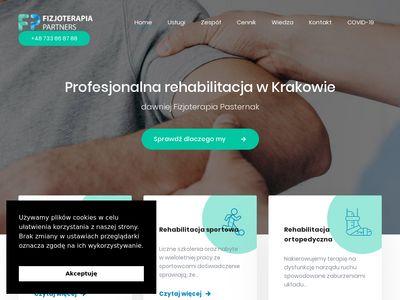 Rehabilitacja dla dzieci i dorosłych - Fizjoterapia Pasternak Kraków