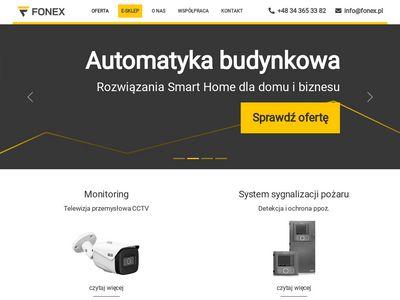 Alarmy i monitoring - Fonex