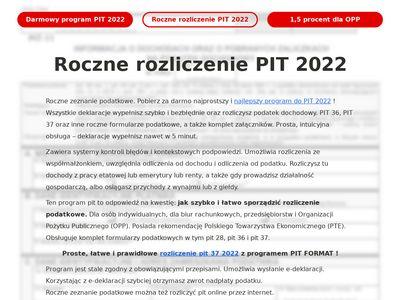 Program pit 2017 /pit 2018 i rozliczenie podatku