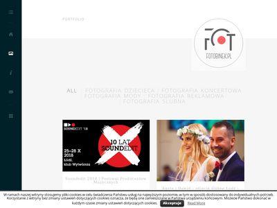 FOTOBINEK |Fotografia ślubna |zdjęcia ślubne |fotografia reportażowa i reklamowa