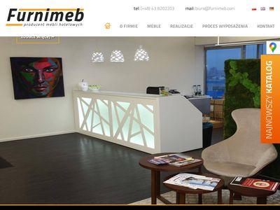 Wyjątkowe meble hotelowe
