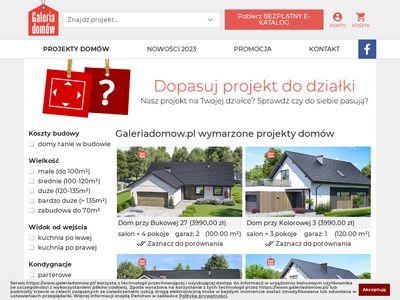 Galeria Domów - projekty