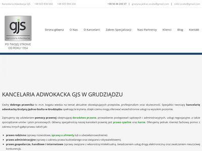 Kancelaria Adwokacka Grudziądz – profesjonalne usługi prawne od 1954 roku.