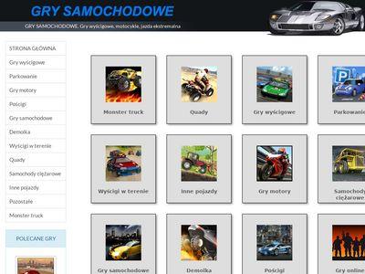 Samochodowe gry online