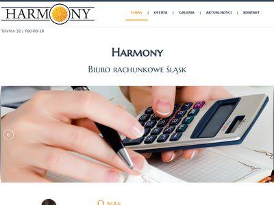 Harmony - księgowa piekary, biuro rachunkowe piekary, biuro rachunkowe bytom