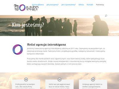 Marketingowa agencja - Holist