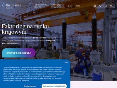 IFIS Finance - faktoring dla najbardziej wymagających