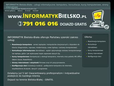 Informatyk Bielsko-Biała