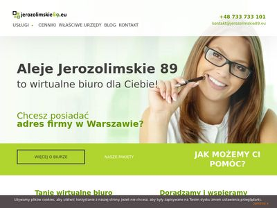 Adres wirtualny w Warszawie