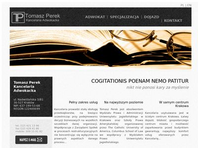 Tomasz Perek - Kancelaria Adwokacka