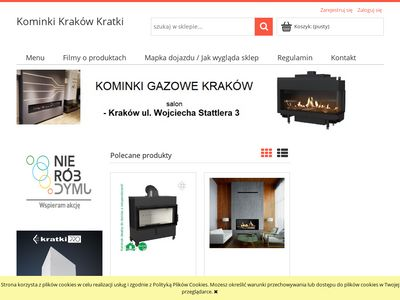Kominki-krakow-kratki.pl - sklep z kominkami kraków