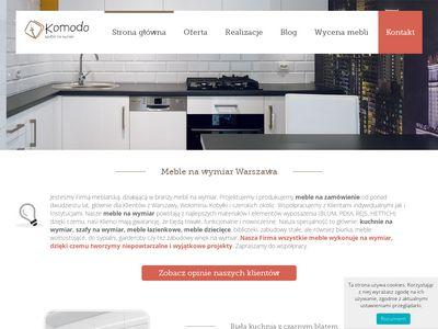 Meble na wymiar, kuchnie, szafy Warszawa