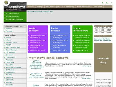 Wybór konta bankowego