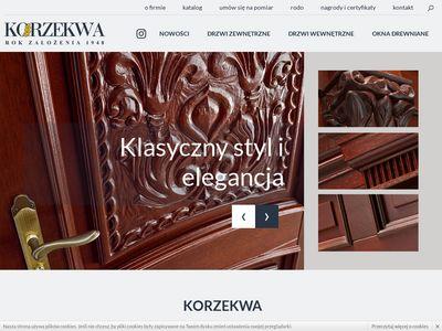 Producent okien drewnianych
