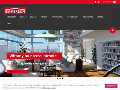 Mieszkania Kraków - domy - Biuro nieruchomości Emmerson