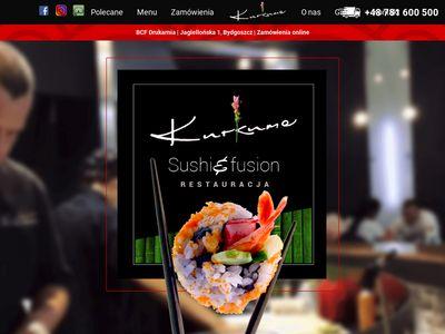 Restauracja sushi Bydgoszcz