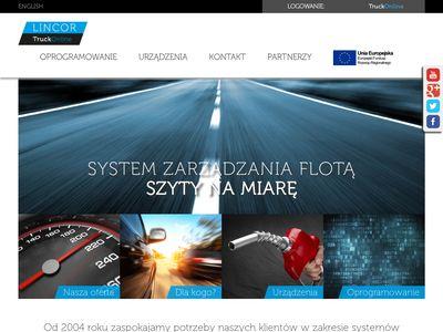 LINCOR - lokalizacja GPS, monitorowanie GPS, producent
