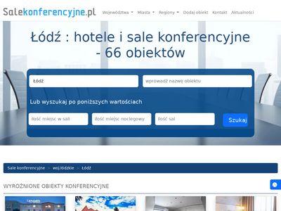Sale konferencyjne Łódź