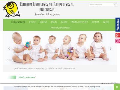 Leczenie wad wymowy - logopeda Sandra Dobrowolska