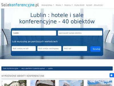 Sala konferencyjna Lublin