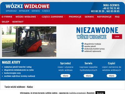 Sprzedaż wózków widłowych