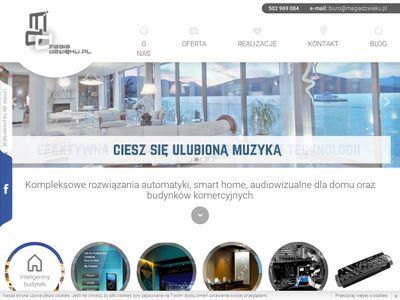 Rozwiązania audiowizualne dla domu i budynków komercyjnych