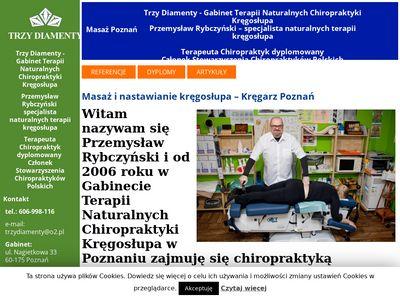 Masaż Kręgosłupa - Chiropraktyka - Rwa Kulszowa -Kręgarz - Rybczyński 606998116