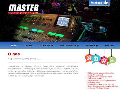 Usługi nagłośnieniowe -Obsługa konferencji, koncertów.