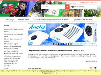 MASTER MOT - Serwis części AUTOKLIMATYZACJI