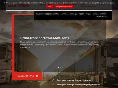 Transport i spedycja Anglia