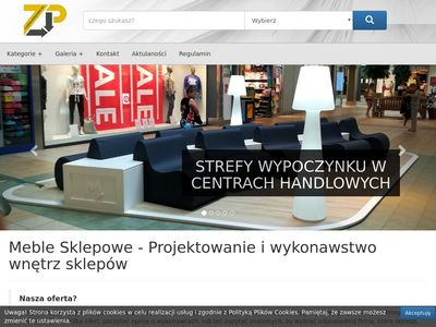 Meble sklepowe - Zikarto Projekt