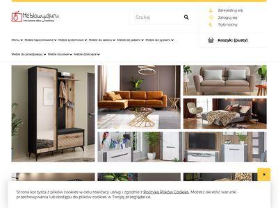 Producent mebli tapicerowanych poleca sklep meblowy online