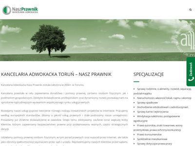 Adwokat Toruń Kancelaria Nasz Prawnik
