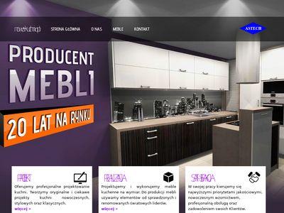 Meble kuchenne - projektujemy piękno