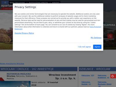 Nowe mieszkania Wrocław