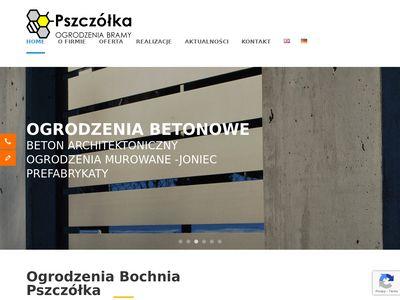 Pszczółka - Ogrodzenia Bochnia Kraków Limanowa Nowy Sącz Tarnów Brzesko
