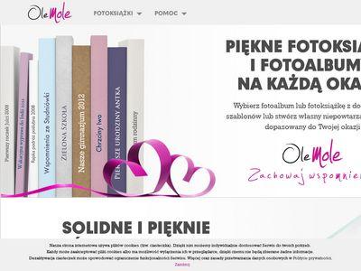 Fotoksiążka i fotoalbum z OleMole - zachowaj wspomnienia!